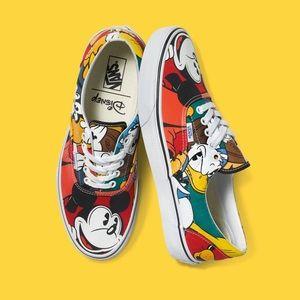 ❤️🔥 RARE | Disney x Vans - Mickey Mouse Sneakers